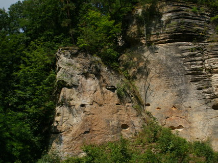 FOTKA - údolí Plakánek u hradu Kost