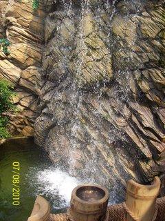 FOTKA - vodopád v zoo v madarsku