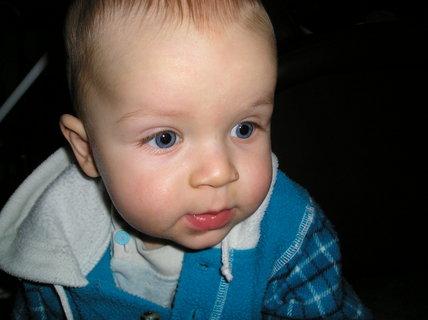 FOTKA - Mám krásné modré oči