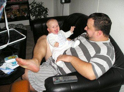 FOTKA - S tatínkem byla vždycky bžunda