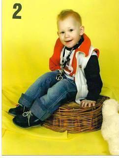 FOTKA - Daneček když mu byli 2 roky