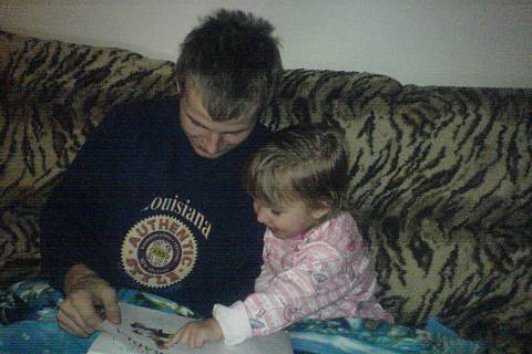 FOTKA - Lucinka s tatínkem