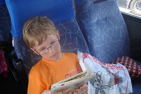 FOTKA - V autobusu