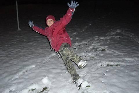 FOTKA - Sněhové dovádění