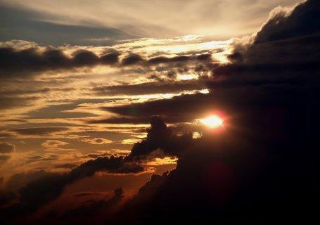 FOTKA - Strašidelné nebe
