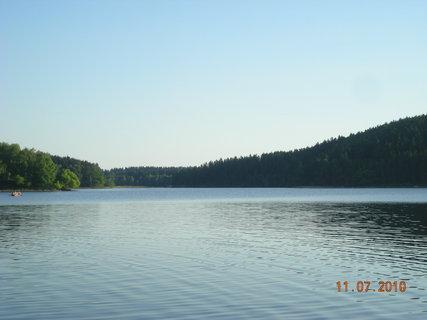 FOTKA - na přehradě vládl klid