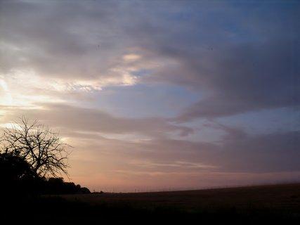 FOTKA - Podvečerní nebe