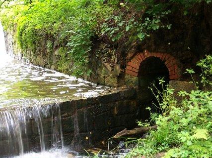 FOTKA - cestou na kole-průhonický park_boční přítok