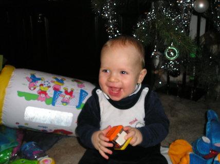 FOTKA - Moje první vánoce I.
