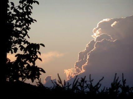 FOTKA - . Podvečerní nebe