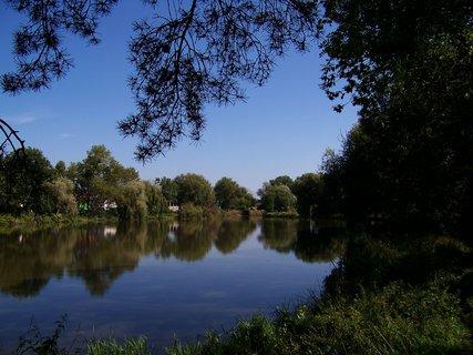 FOTKA - včerejší vyjížďka na kole_Hrnčířský rybník....