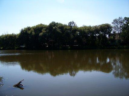 FOTKA - nedělní vyjížďka na kole - rybník Šeberov 2