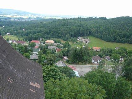 FOTKA - výhled z hradu Lipnice,,