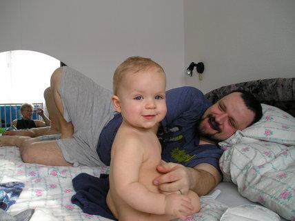 FOTKA - Špásujeme s tatínkem a maminkou