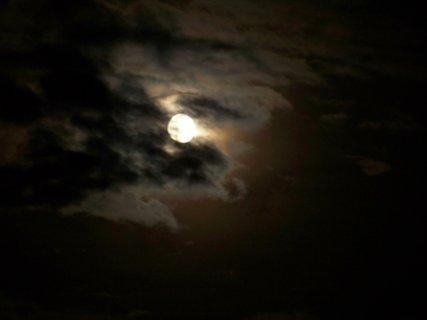 FOTKA - zkoušela jsem fotit měsíc....