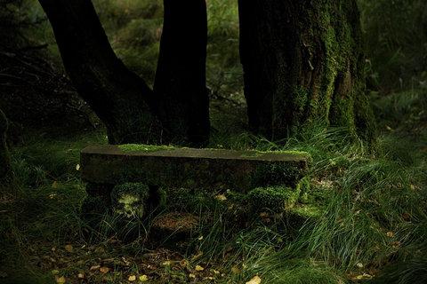 FOTKA - Kamenná lavička
