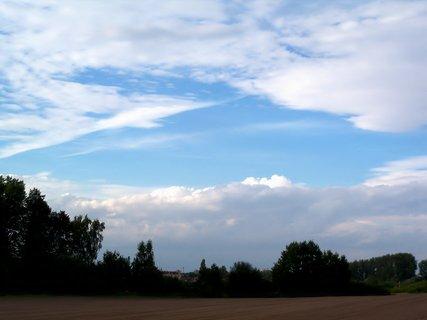 FOTKA - Podvečerní obloha