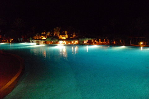 FOTKA - bazén v noci