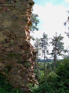 FOTKA - Zpustlý hrad Žumberk
