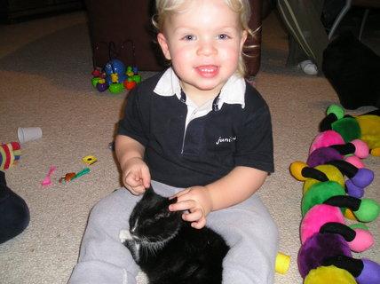 FOTKA - Mamí, kočička má heboučká ouška