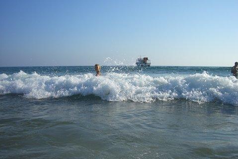 FOTKA - Dovádění ve vlnách