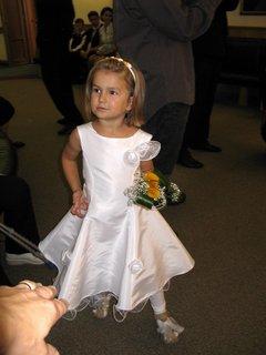 FOTKA - svatební malá drůžička