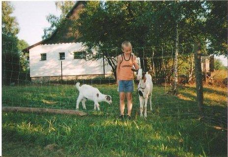 FOTKA - Honzík a kozy