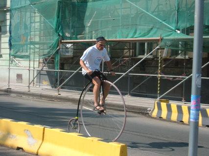 FOTKA - na vysokém kole