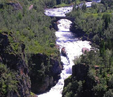 FOTKA - Divoká norská řeka