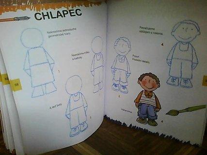 FOTKA - předloha na kreslení - panáček