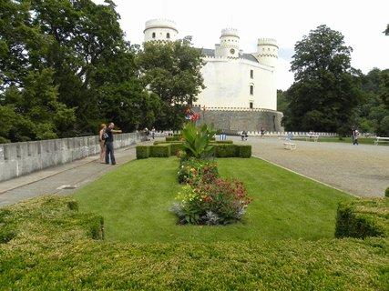 FOTKA - u zámku Orlík..