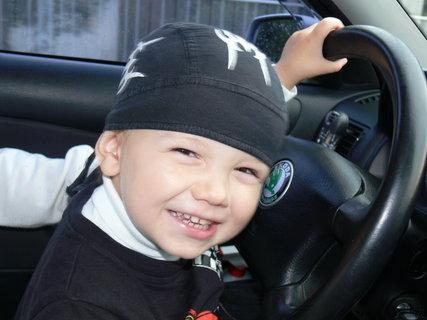 FOTKA - Malej řidič...:)