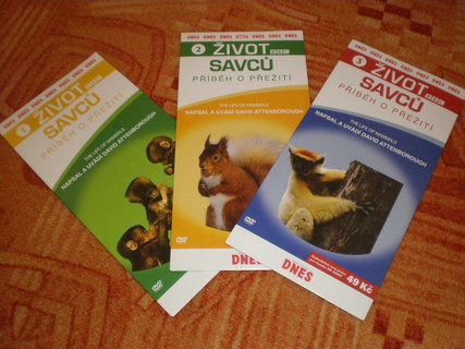 FOTKA - dvd Život savců