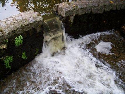 FOTKA - upouštění rybníka.....