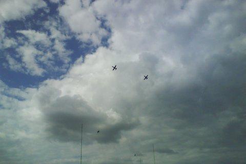 FOTKA - letadlo v oblacích,,
