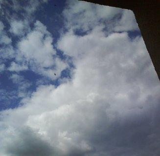 FOTKA - letadlo v oblacích,,,,