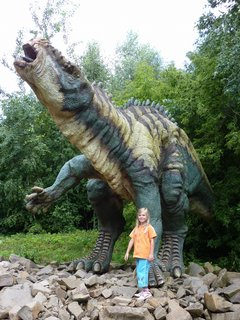 FOTKA - S dinosaurem II