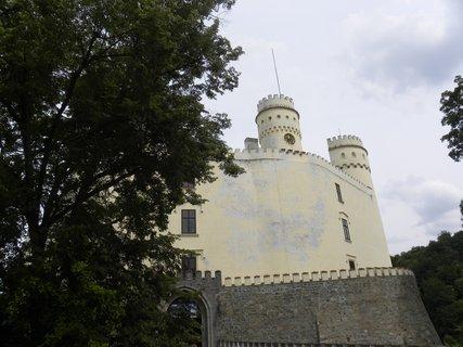 FOTKA - u zámku Orlík....