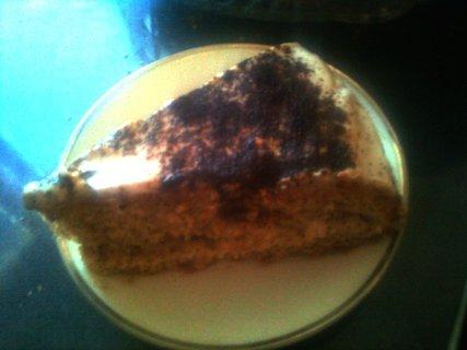 FOTKA - kávový dort - kousek