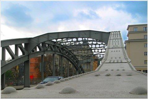 FOTKA - mostní konstrukce mostu - Ostrava