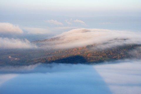 FOTKA - Mlha se valí přes Kaňkov
