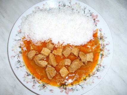 FOTKA - Masový mišmaš s rýží
