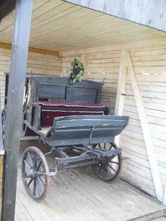 FOTKA - Pohřební kočár.