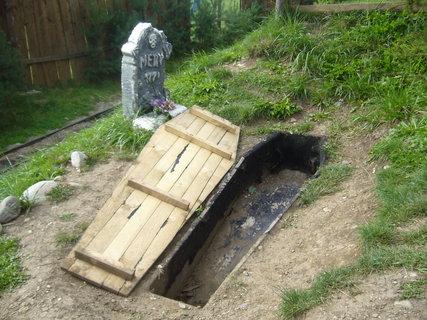 FOTKA - Westernové městečko - hřbitov