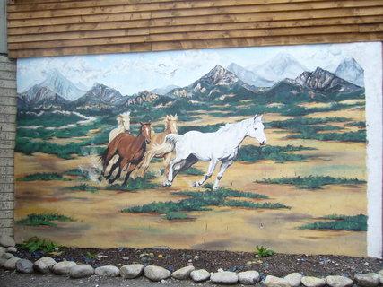 FOTKA - Westernov� m�ste�ko u Liptovsk�ho Mikul�e,