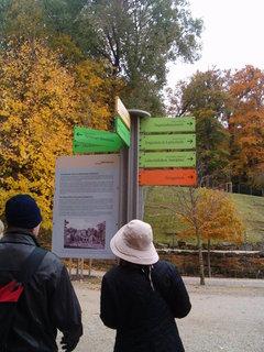 FOTKA - Rozcestník  v Schonbrunu