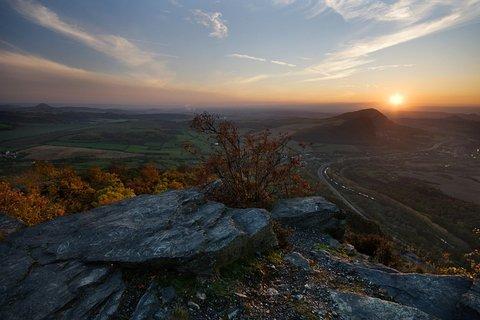 FOTKA - Západ slunce z Bořně
