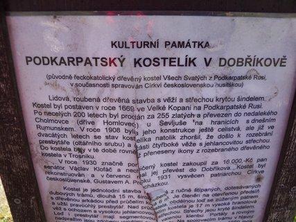 FOTKA - Historie Dobříkovského kostela