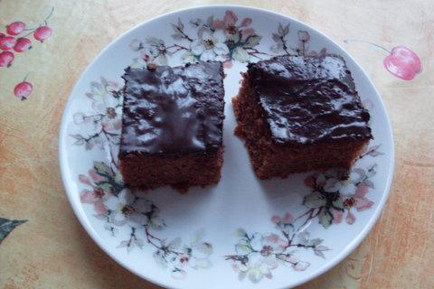 FOTKA - Perník s čokoládovou polevou.