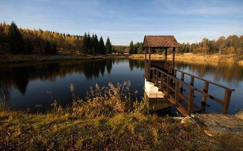 FOTKA - Černý rybník u Zákoutí.